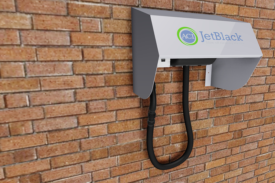 ACI's wall-mounted JetBlack takes cover…
