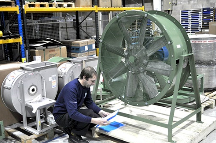 Construction Ventilation Fans : Cr thread new question about axial blower