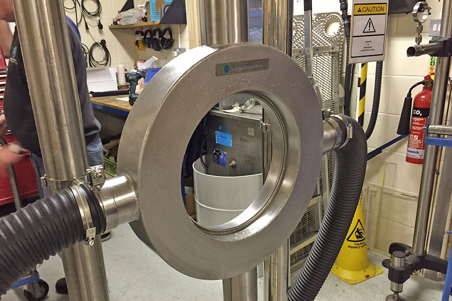 "VIDEO: ""Ring"" Air Knife System for Extrusion Drying"