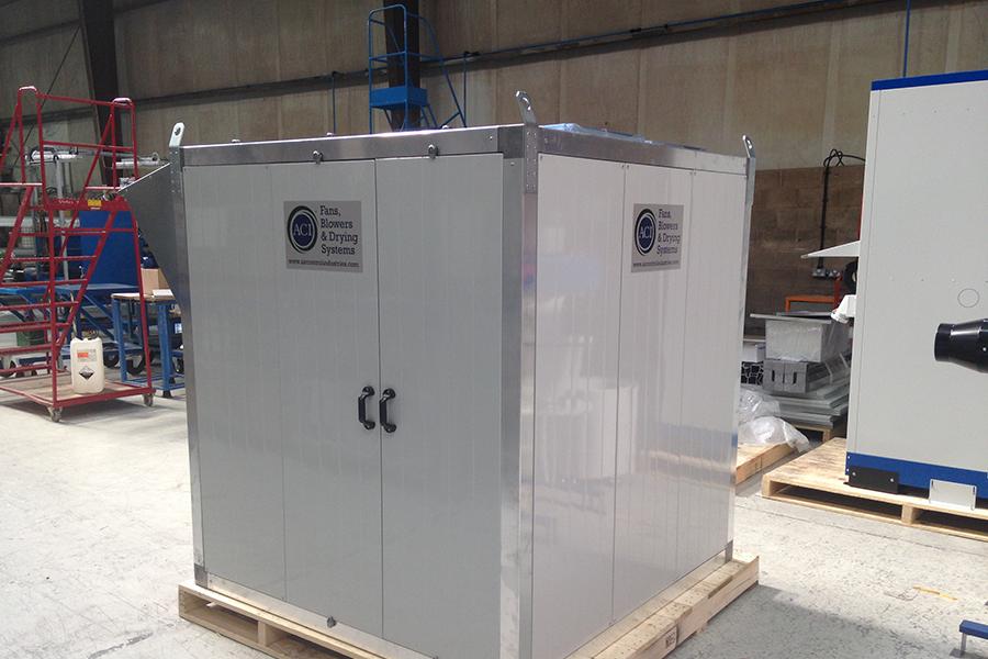 ACI improve design of their Blower Enclosures