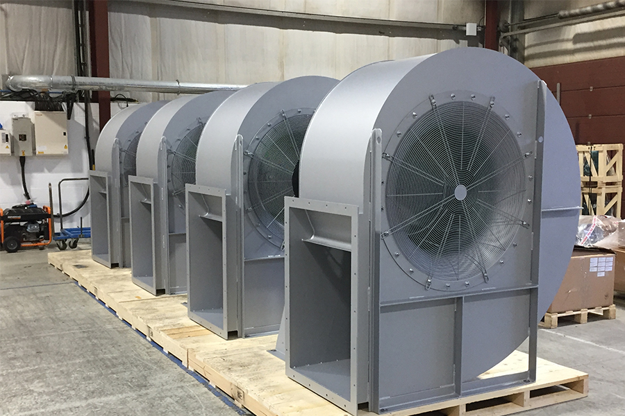 Industrial Fans for Biomass and Biofuel Generation