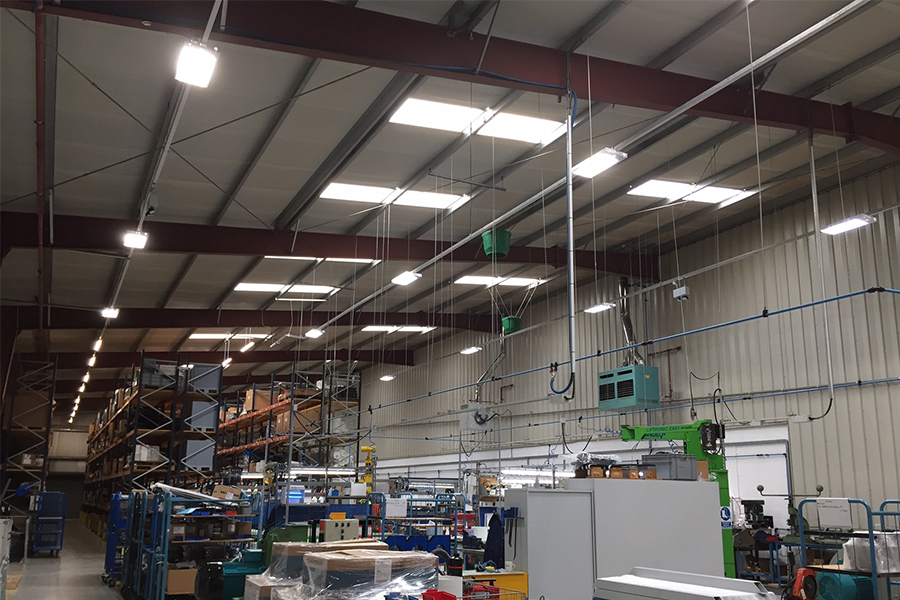 Air Control Industries' LED lighting overhaul reduces costs by 70%