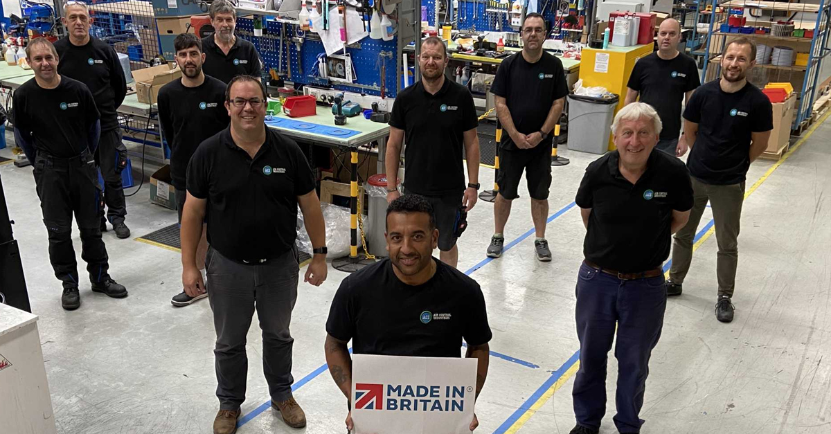 ACI achieves Made in Britain Accreditation